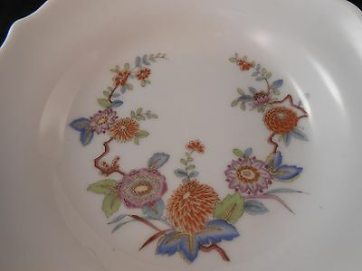 Vintage Hutschenreuther Mandalay Tea Cup And Saucer Floral Pattern Germany Nice
