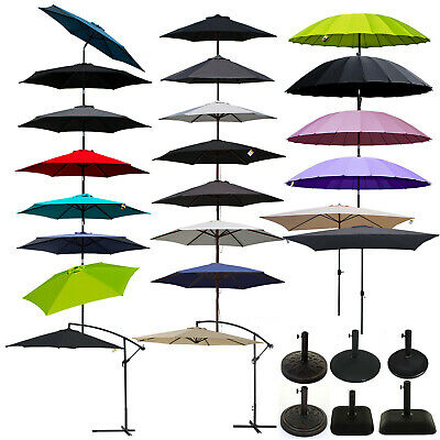 Outdoor Wooden Parasols Garden Furniture Patio Sunshade Shanghai Aluminium Large