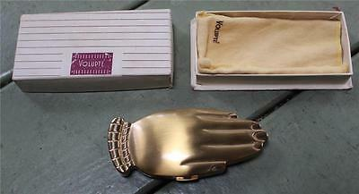 Antique Vintage Volupte Hand Compact Rare with Box