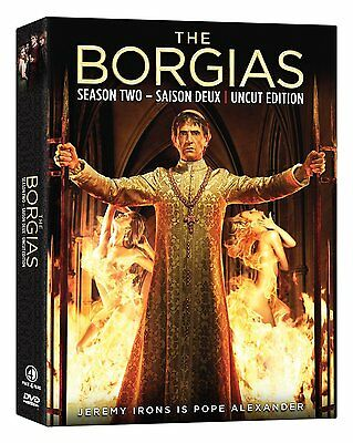 The Borgias: The Second Season (DVD, 2013, 3-Discs, Canadian, French Included)