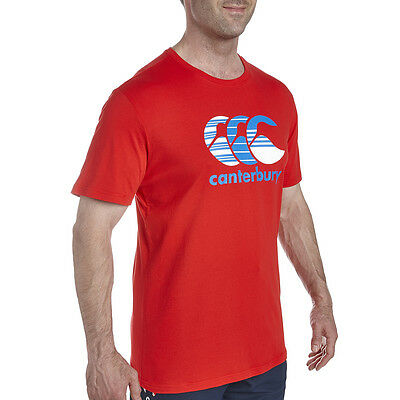 Tee shirt rugby Multi Hoop canterbury Rouge  Neuf Taille L