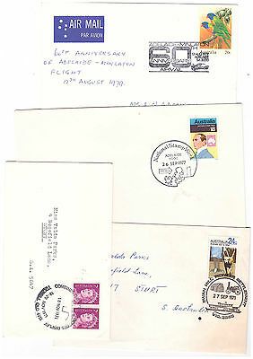 Australia 1971/88 COLLECTION OF Souvenir Covers & Postmarks (11)