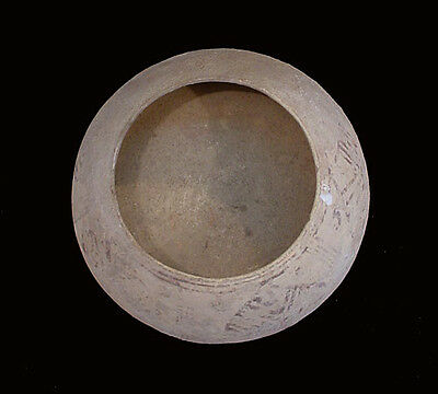 Indus Valley clay bowl with pipal leaf design Circa 3rd millennium BC x5834 • CAD $263.34