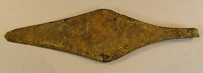 STEPPE CULTURE BRONZE RAZOR, LATE 1ST MILL BC - x4217