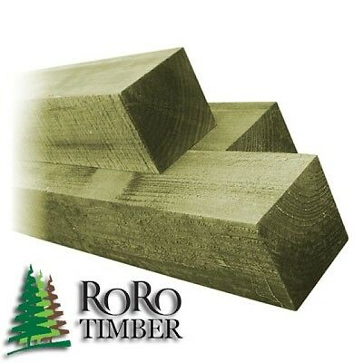 100mm x 100mm 3.6M (12FT) PRESSURE TREATED TIMBER WOOD WOODEN FENCE POST BEAM