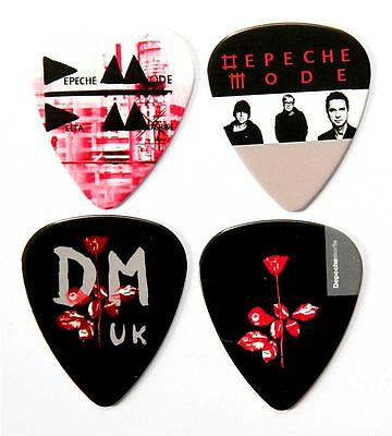 Depeche Mode Guitar Plectrums - Packet of 4 Premium Guitar Picks