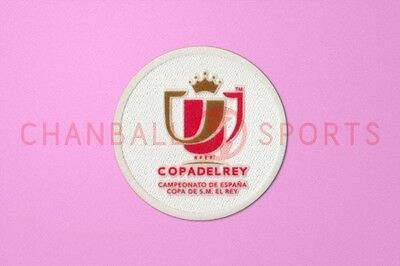 Spanish COPA DEL REY (King's Cup) Final Patch 2013-2014 Soccer Patch / Badge
