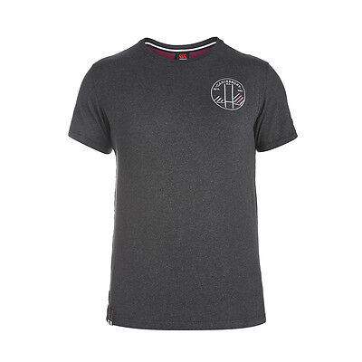 Tee shirt Rugby Tape Tee canterbury Neuf Taille L Gris
