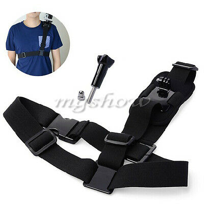 Camera Shoulder Strap Chest Harness Belt Mount for GoPro Hero 1 2 3 3 + 4 5