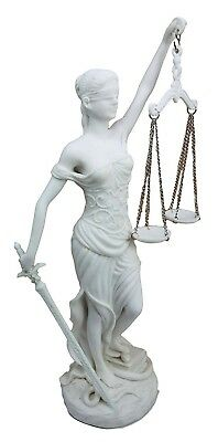 """10"""" Tall Blind Lady Justice La Justica Statue Goddess of Justice Figurine Statue"""