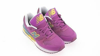 $100 New Balance Women 530 Elite Edition Pinball purple teal 574 W530PIA