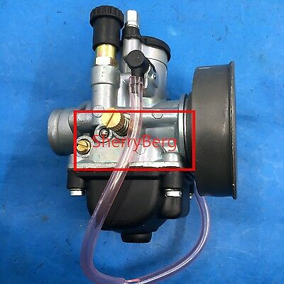 carb vergaser moped/pocket fit carburetor PHBG21mm with manual Choke dellorto
