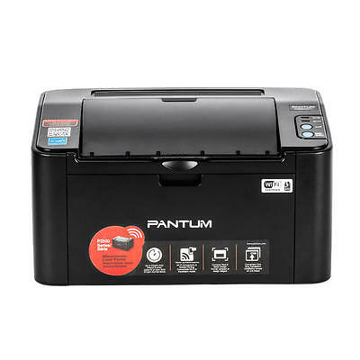 Pantum P2500W Monochrome Wireless Laser Printer Wi-Fi connectivity+Starter Toner