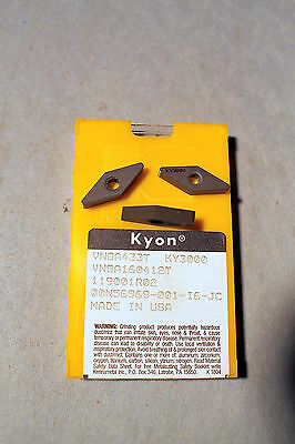 5 Kennametal Ceramic Inserts   Vnga 433T  C2A6