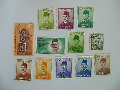 L201 - Collection Of Indonesia Stamps