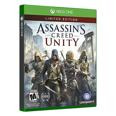 Assassins Creed Unity Special Edition Xbox One Game Assassin's - Microsoft NEW!