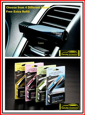 Car Vent Perfume Air Conditioner Fragrance Air Freshener Free Refill