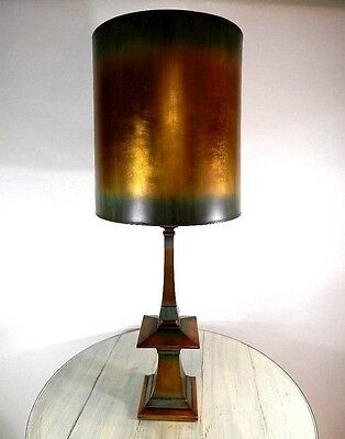 "Rare Vintage Rembrandt Modernist Era Hollywood Regency Table Lamp 47"" tall"