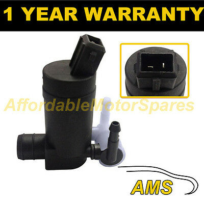 For Ford Mondeo Mk3 2000-03 Front Rear Twin Outlet Windscreen Washer Water Pump