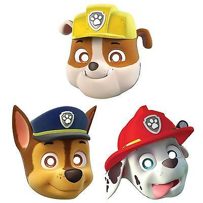 KIT 8 MASCHERE PAW PATROL,  Party festa compleanno b57331