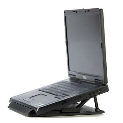 Universal Portable Laptop Desk Swival Stand Cooling Pad WS