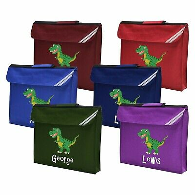 PERSONALISED BOOK BAG / School Book Name Class Printed Reading Music Drawing Bag