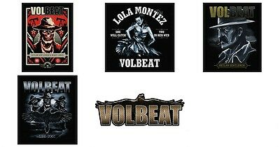Volbeat Sew On Patch/Patches NEW OFFICIAL. Choice of 5 Designs
