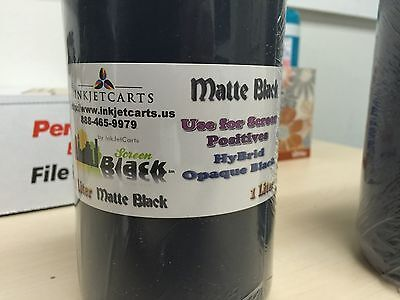 Screen Positive Black Hybrid Ink 1 Liter