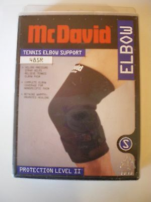 McDavid Tennis ELBOW support Thermal Fabric Small & XLarge Black