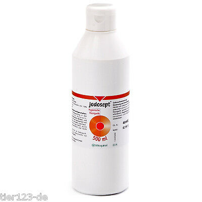 Jodosept  500ml Gel - Vetoquinol - Desinfektion 100ml / 4,90€