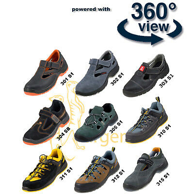 SAFETY SHOES WORK SHOE SANDAL STEEL TOE CAP BOOTS+1pair of socks gratis !! NEW