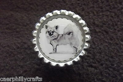 L/C Chihuahua Dog Show Ring Clip by Curiosity Crafts