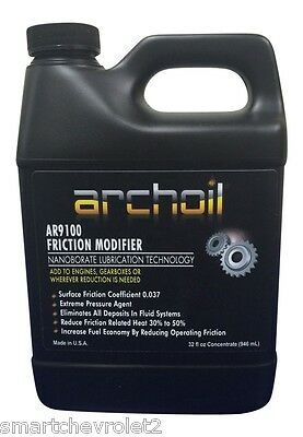 Archoil Ar9100 32oz Friction Modifier Oil Additive powerstroke Diesel
