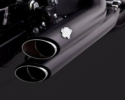 Vance And Hines Black Shortshots Exhaust For Harley Davidson 2014-2017 Sportster