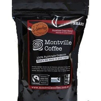 Montville Coffee Organic Sunshine Coast Blend Plunger/ Filter Grind 1kg