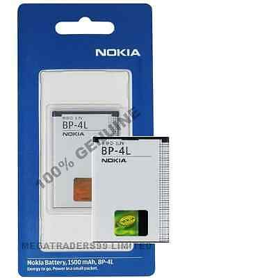 NEW GENUINE NOKIA BP-4L BP4L BATTERY FOR E52 E55 E61i E63 E71 E72 E 90 N97 N810