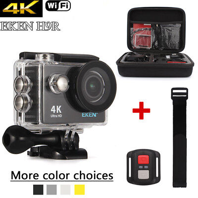 Original EKEN Waterproof WiFi Sport Action Camera 1080P 4K Travel Camcorder H9R