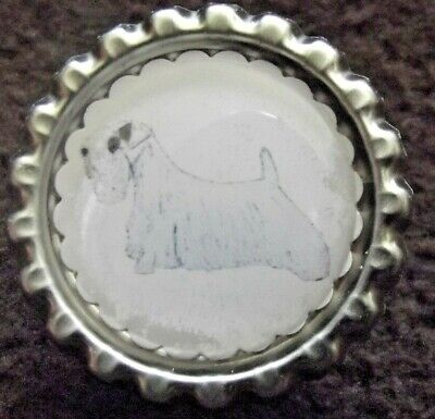 Sealyham Terrier Dog Show Ring Clip by Curiosity Crafts