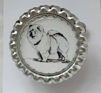 Chow Chow Dog Show Ring Clip by Curiosity Crafts