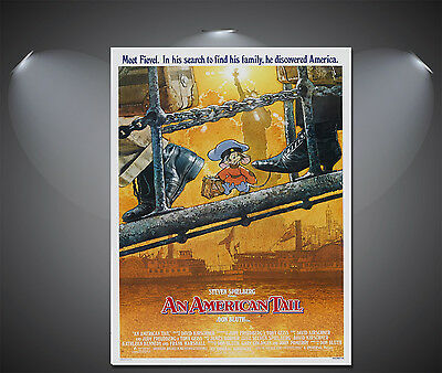 A2 An American Tale Vintage Movie Poster A4 Sizes A3 A1