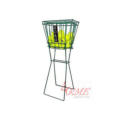 HOAG Pro Ball Basket Green (Tennis Ball Basket) - 100 balls