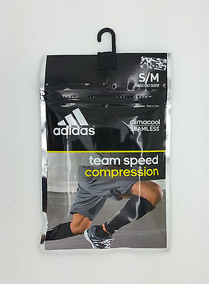 Adidas Climacool Seamless Compression Gray/white Single Calf Sleeve (S/m) -- New