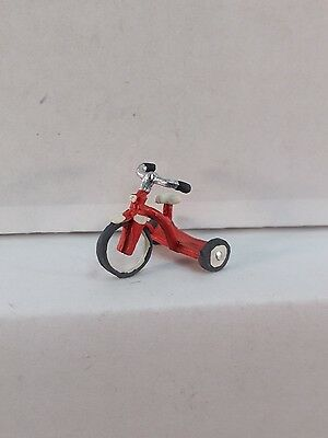 Arttista Kids Tricycle #1135 - O Scale On30 On3 Figures People - Artista New