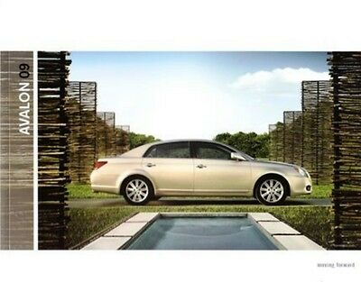 2009 09 Toyota Avalon  oiginal sales brochure MINT