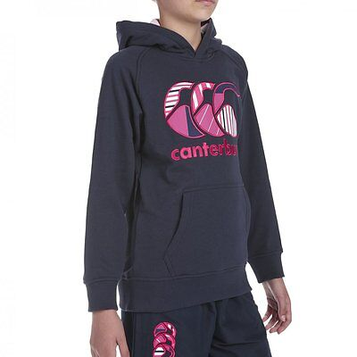 Sweat Hoody Girls Oh canterbury KIDS  Navy Taille 10 ans XS