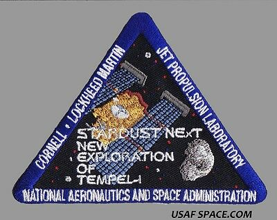 STARDUST NExT NEW EXPLORATION OF TEMPLE - 1  JPL NASA SATELLITE  SPACE PATCH