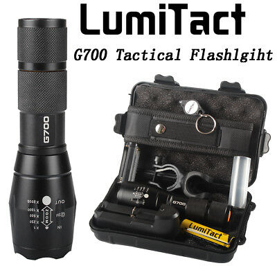 Super 20000lm Genuine Lumitact G700 X800 LED Tactical Flashlight Military Torch