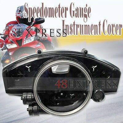 Motorcycle Speedometer Gauge Instrument Cover Cluster for Yamaha YZF R1