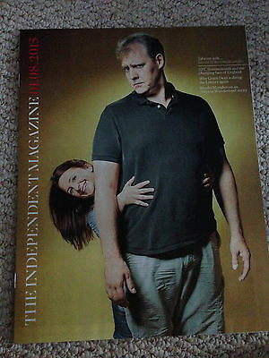 Independent Magazine Aug 2015 Justin Edwards Lucy Porter RuPaul AFC Bournemouth