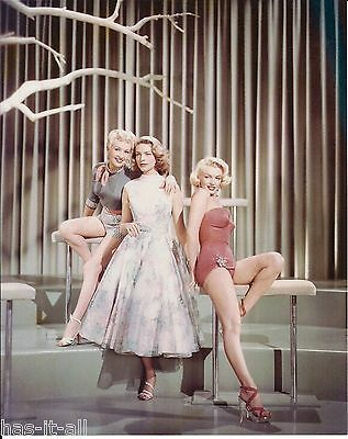 """Marilyn Monroe, Lauren Bacall, Betty Grable """"How To Marry A Millionaire"""" Photo"""